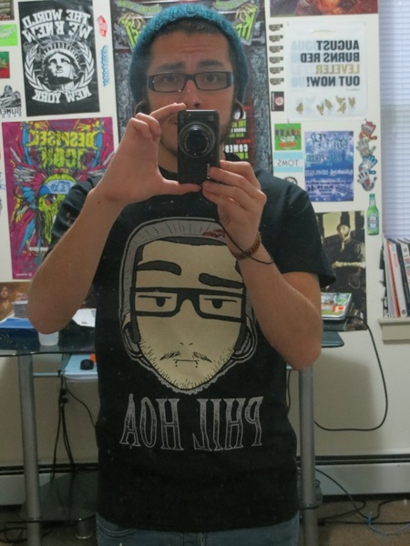Cartoony Self Portrait T-Shirt Photo