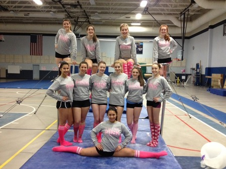 Nashua High Think Pink Meet T-Shirt Photo