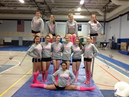 Nashua High Think Pink Meet T-Shirt Photo