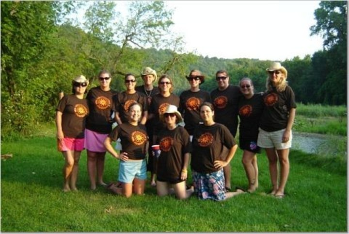 Girls Camping 2006 T-Shirt Photo
