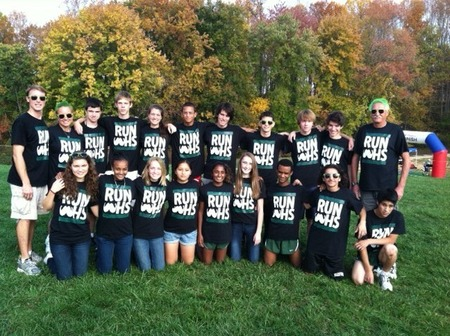 Wakefield Cross Country Team T-Shirt Photo
