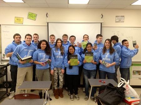 Best Math Class Ever T-Shirt Photo