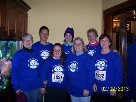 Team Katie   Polar Plunge Virginia Beach 2013 T-Shirt Photo