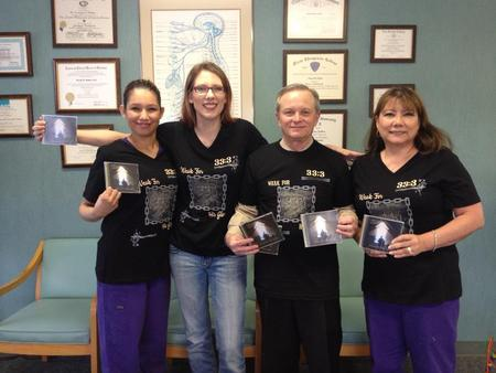 My Chiropractor & Clinic Loved The T Shirts! T-Shirt Photo