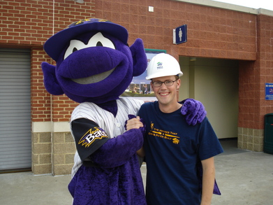 Habitat For Humanity Fundraising With The Louisville Bats T-Shirt Photo