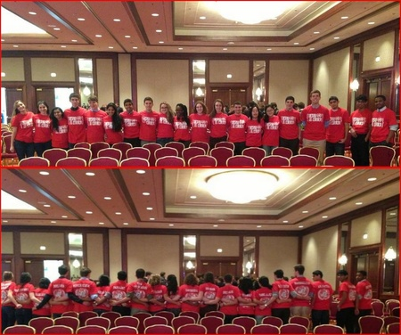 East's Model Un Team Representing At Johns Hopkins Model United Nations Conference T-Shirt Photo