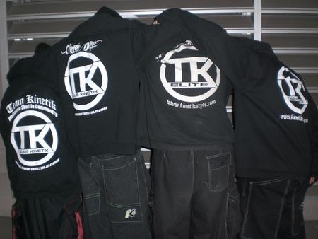 Team Kinetik   Colorado Dance Team T-Shirt Photo