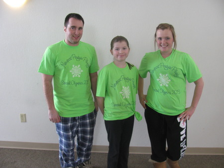 Supporting The Special Olympics Of Vermont!!! T-Shirt Photo