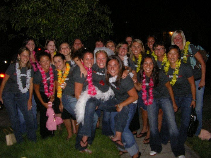 Bachelorette Party Team Photo T-Shirt Photo