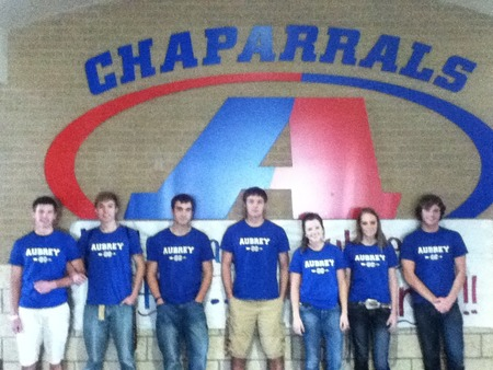 Aubrey Cross Country Team T-Shirt Photo