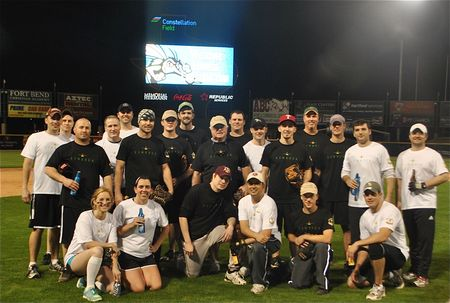 Linbeck Annual Meeting Softball Game T-Shirt Photo