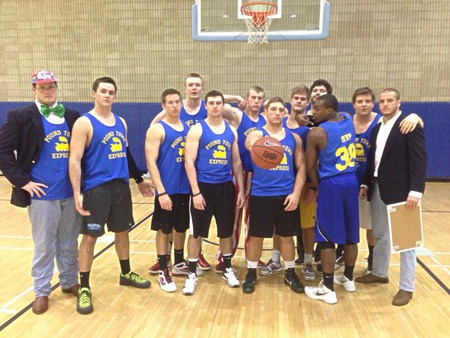 Pound Town Express Wins The Intramural Basketball Championship T-Shirt Photo