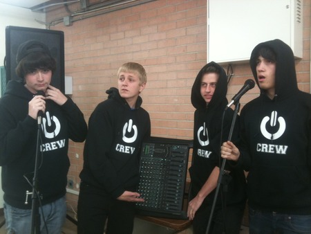 Crew Hoodies Power School Events T-Shirt Photo