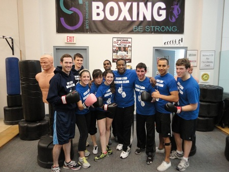 The Penn Law Boxing Club T-Shirt Photo