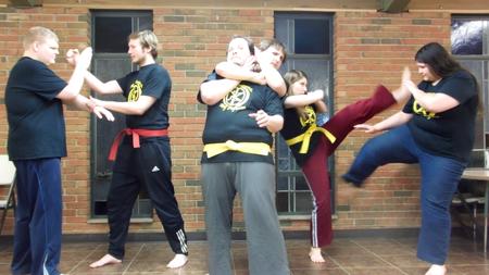 School Of Self Defense T-Shirt Photo