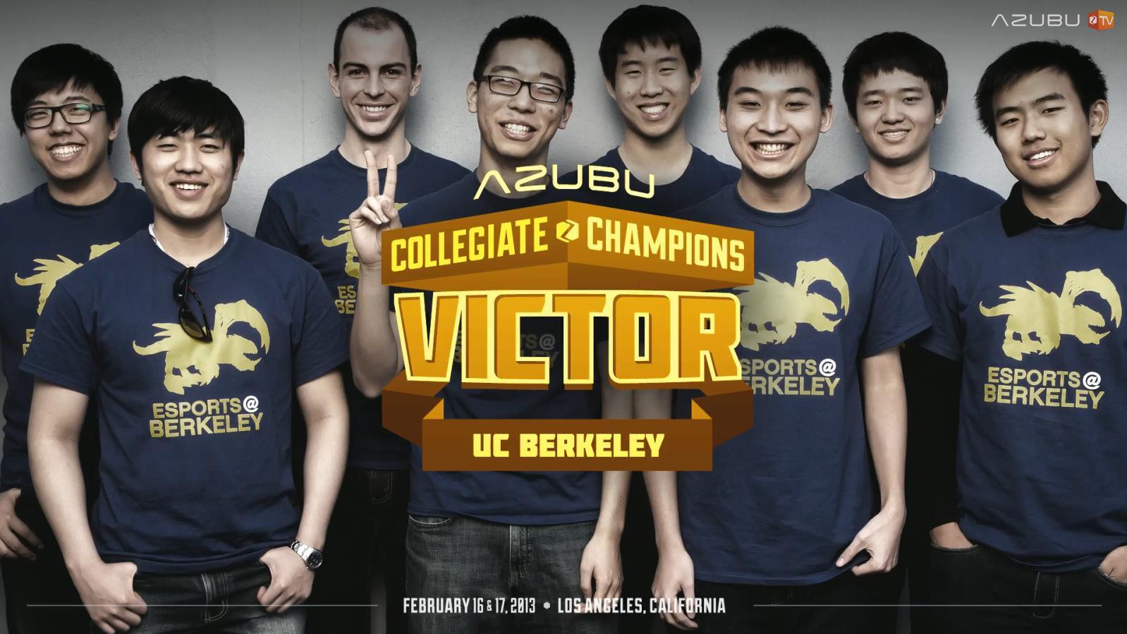 Custom T-Shirts for E Sports At Berkeley Csl Champions - Shirt
