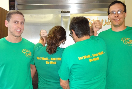 Eat Well's Staff T-Shirt Photo