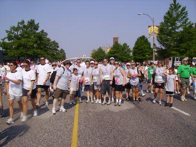 Susan G. Komen St. Louis Race For The Cure T-Shirt Photo