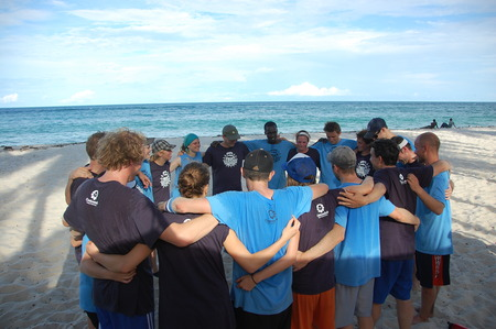Spirit Circle @ The 4th Annual East Africa Sand Tournament   Tiwi Beach, Kenya T-Shirt Photo