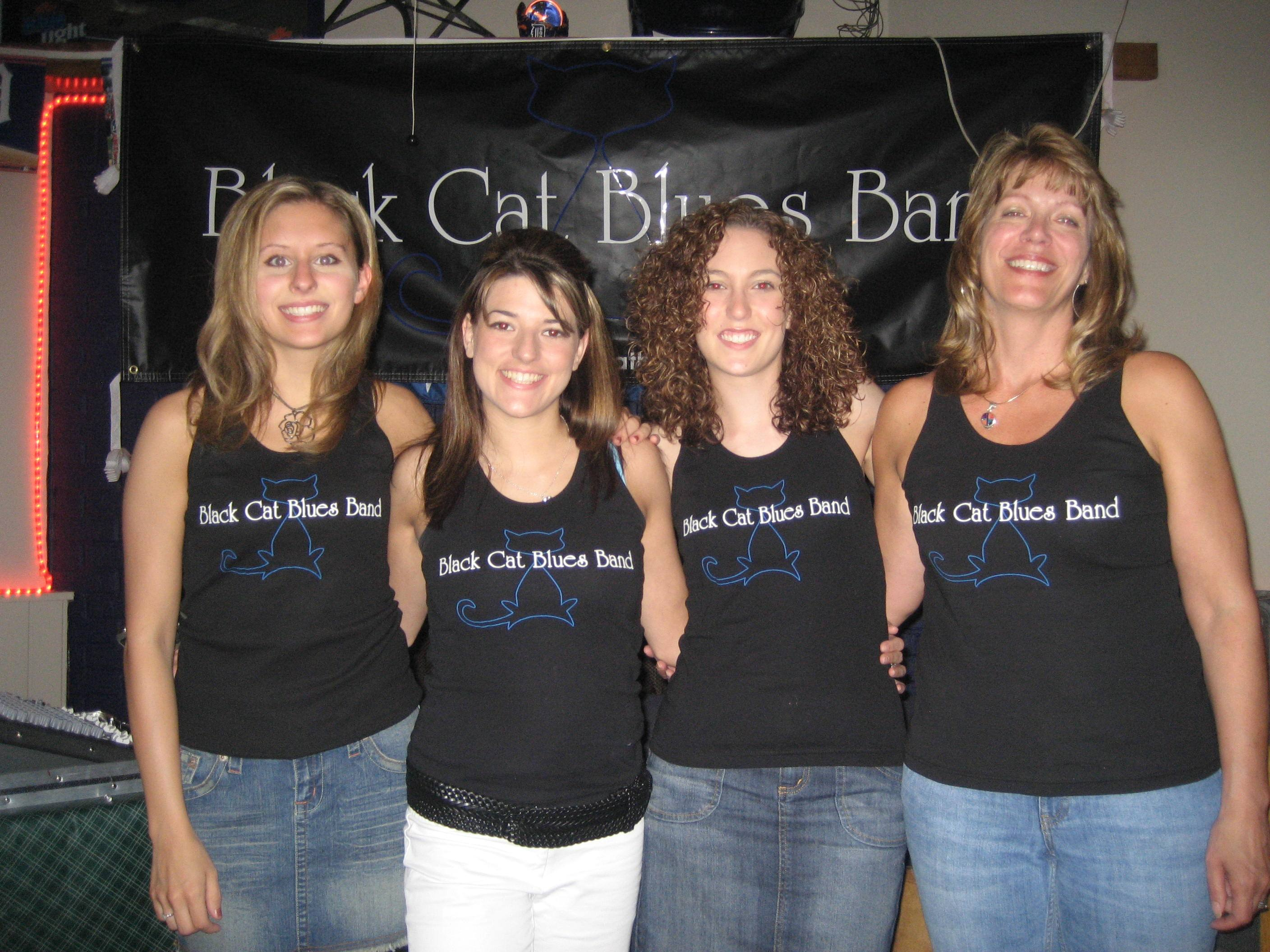 Custom T Shirts For Just A Few Of The Blues Sisters