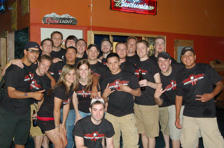 Albuquerque Squads At Best Of The West 2010 T-Shirt Photo