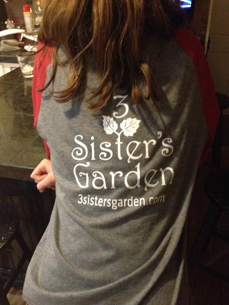 3 Sister's Garden T-Shirt Photo