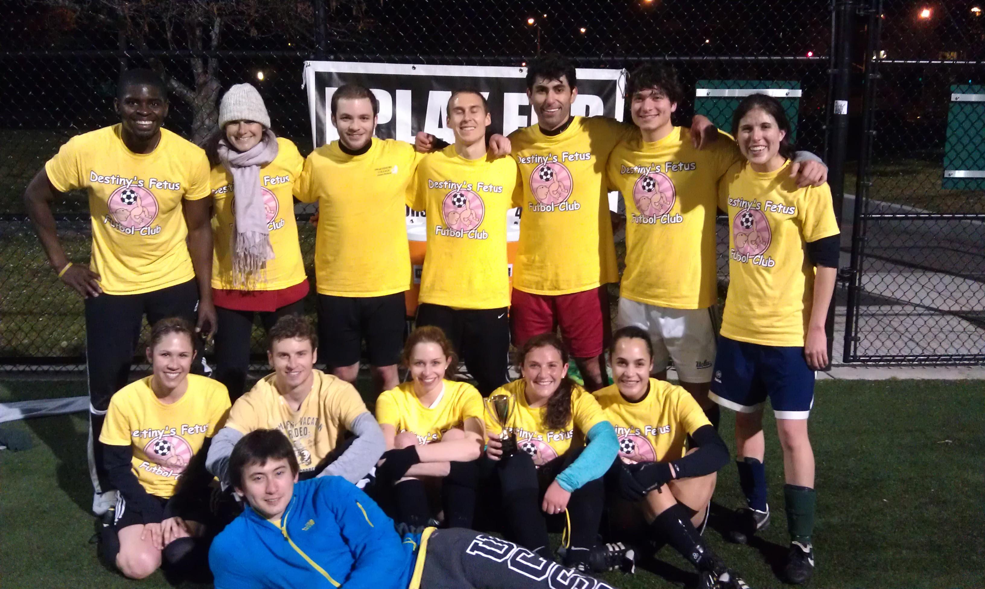 7b43cbf6a Custom T-Shirts for Destinys Fetus Soccer Champions! - Shirt Design ...