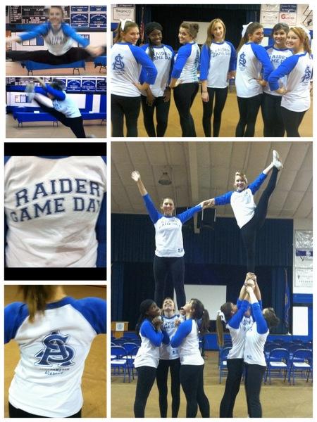 Custom T Shirts For Raider Cheer Game Day Shirt Design