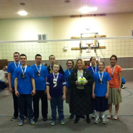 Volleyball Tournament Champions T-Shirt Photo