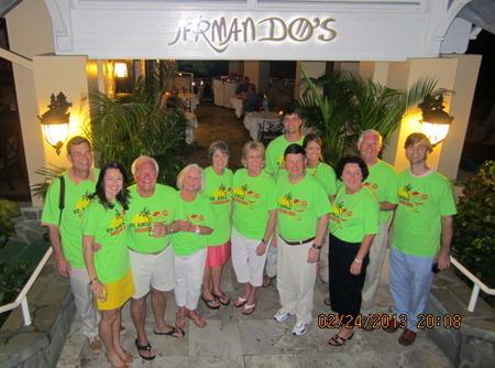 St. Lucia Birthday Bash T-Shirt Photo
