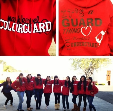 Mkhs Colorguard  T-Shirt Photo