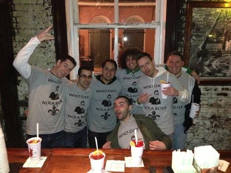 Matt's Bachelor Party   New Orleans T-Shirt Photo