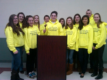 Wamogo Ffa Parli Pro   Front T-Shirt Photo