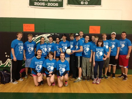 Oswayo Valley Senior Class Ic Volleyball Tournament T-Shirt Photo