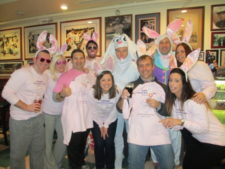The Easter Bunny Diving Team T-Shirt Photo