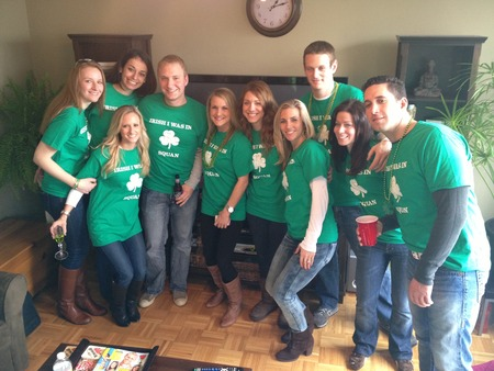 Irish I Was In Squan T-Shirt Photo