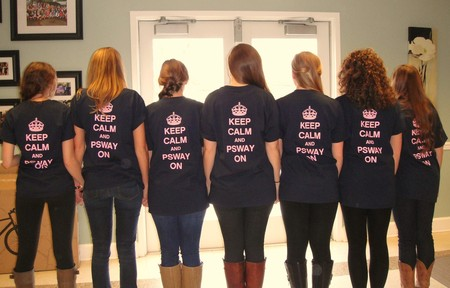 Sorority Family Big/Little Reveal  T-Shirt Photo