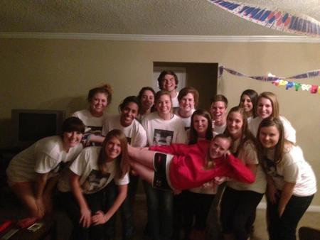 Kelly's 20th Surprise Birthday Party! T-Shirt Photo