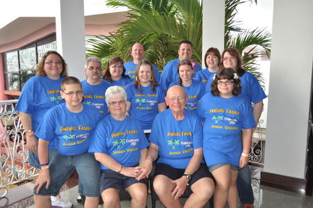 Family Reunion In Jamacia T-Shirt Photo