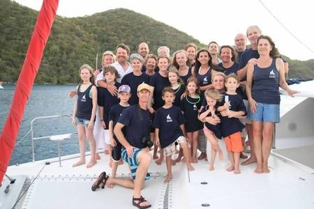 Anderman/Dempsey Sailing Trip 2013 Bv Is T-Shirt Photo