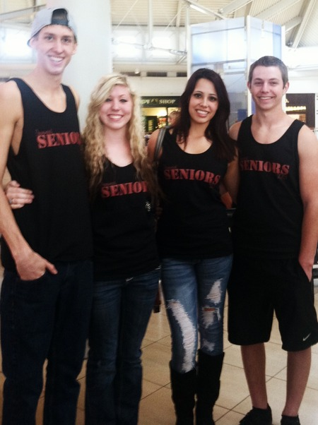 Senior Tank Top Tuesdays <3 T-Shirt Photo