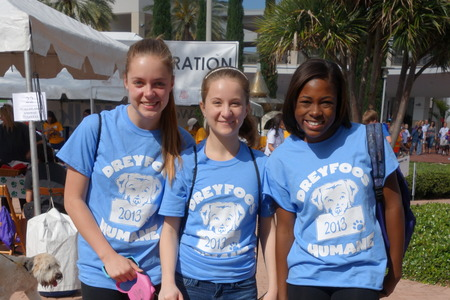 The Girls Of Dreyfoos Humane T-Shirt Photo