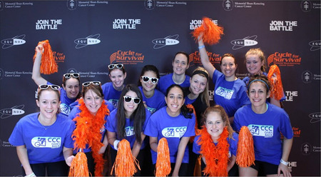 Ccc Gives Back At Cycle For Survival!  T-Shirt Photo