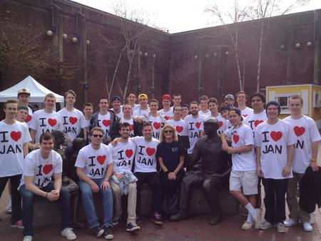 I Heart Jan T-Shirt Photo