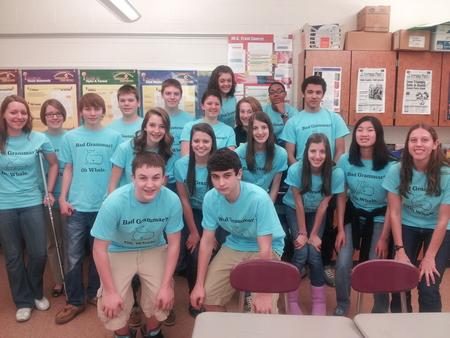 Bad Grammar? Oh Whale. T-Shirt Photo