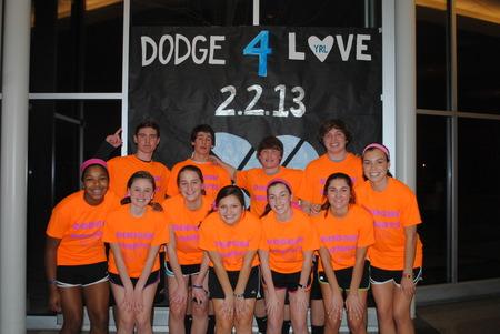 Dodge For Love Dodgeball Tournament T-Shirt Photo