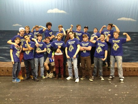 Roger & Hammerstein's Carousel   Boys Cast T-Shirt Photo