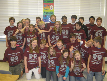Harmony's Odyssey Of The Mind Team T-Shirt Photo