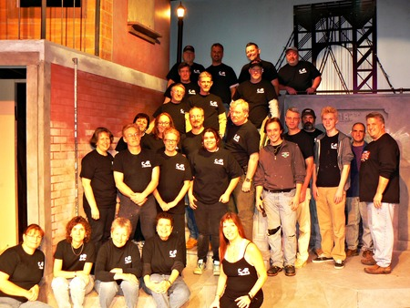 Set Construction And Paint Crew T-Shirt Photo