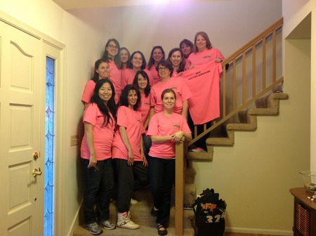 We Survived The 2013 Silver And Gold Charity Auction T-Shirt Photo